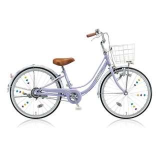 22型 子供用自転車 リコリーナ(E.Xティーンラベンダー/シングルシフト) RC20【2017年モデル】 【組立商品につき返品不可】