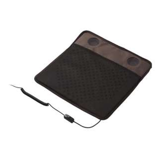 USBクーラークッション メッシュ ブラウン GH-COOLSC-BR