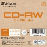 データ用CD-RW SW80QP1V1B [1枚 /700MB /インクジェットプリンター対応]