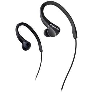 耳かけ型 BLACK SE-E3 [防滴 /φ3.5mm ミニプラグ]