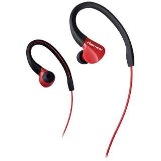 耳かけ型 RED SE-E3 [防滴 /φ3.5mm ミニプラグ]