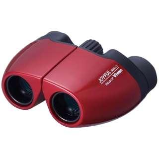 8倍双眼鏡 ジョイフル MS8x21(レッド)