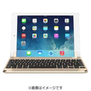 BRY1013 キーボード BRYDGE 9.7[iPad 9.7インチ / 9.7インチiPad Pro / iPad Air 2・1用] Gold [Bluetooth /ワイヤレス]
