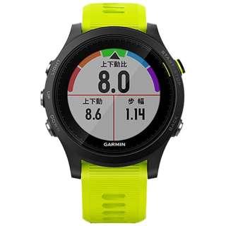 正規品 GPSランニング/トライアスロンウォッチ ForeAthlete935 イエロー 174615 【正規品】