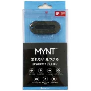 MYNT GPS追跡タグ+リモコン ブラック M01S-BK [忘れ物防止タグ]