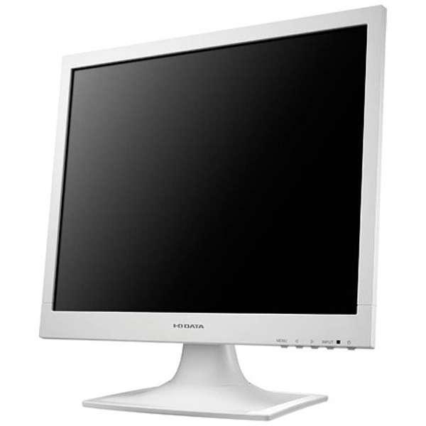 液晶モニター LCD-AD173SESシリーズ ホワイト LCD-AD173SESW [スクエア /SXGA(1280×1024)]