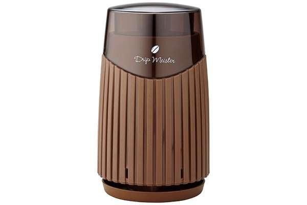 アピックス「ワンプッシュ式電動コーヒーミル」AMM-298