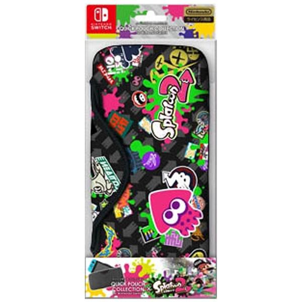 クイックポーチコレクション for Nintendo Switch(スプラトゥーン2) CQP-001-2 [Type-B]