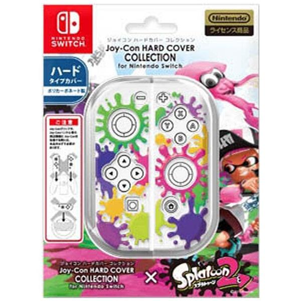 ジョイコンハードカバーコレクション for Nintendo Switch(スプラトゥーン2) CJH-001-1 [Type-A クリア]