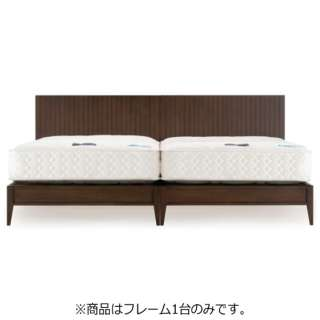 【フレームのみ】収納なし ライフトリートメントアレス LT-PD1404[レッグ/スノコ床板](セミダブルサイズ) フランスベッド