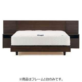 【フレームのみ】収納なし ライフトリートメントアレス LT-PD1405[レッグ/スノコ床板](セミダブルサイズ/ウェンジ) フランスベッド