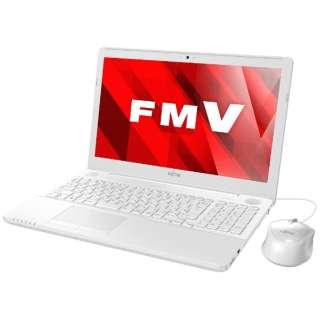 FMVA45B2W ノートパソコン LIFEBOOK(ライフブック) プレミアムホワイト [15.6型 /intel Core i3 /HDD:1TB /メモリ:4GB /2017年5月モデル]
