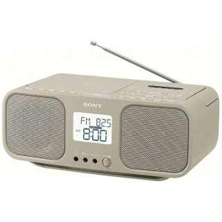 ラジカセ CFD-S401 ベージュ [ワイドFM対応 /CDラジカセ]