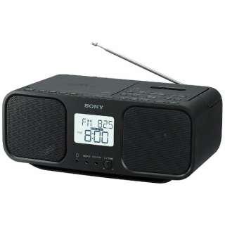 ラジカセ CFD-S401 ブラック [ワイドFM対応 /CDラジカセ]