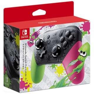 【純正】Nintendo Switch Proコントローラー スプラトゥーン2エディション HAC-A-FSSKB[Switch]