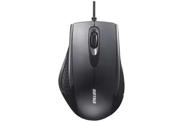 マウスのおすすめモデル21選 バッファロー BSMRU050BK(IR LED/3ボタン)