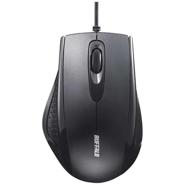 BSMRU050BK マウス ブラック [IR LED /3ボタン /USB /有線]