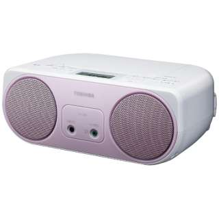 TY-C150P CDラジオ ピンク [ワイドFM対応]