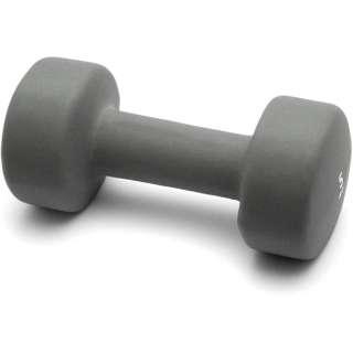 健康グッズ ノースリップダンベル(5.0kg/グレー) 3B-3413