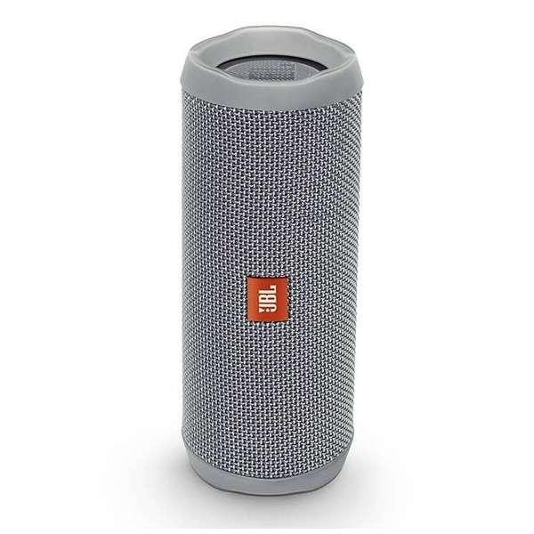 ブルートゥース スピーカー JBLFLIP4GRY グレーホットライム [Bluetooth対応 /防水]