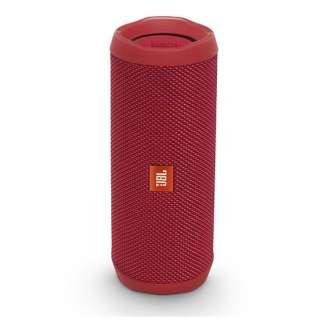 ブルートゥース スピーカー JBLFLIP4RED レッド [Bluetooth対応 /防水]