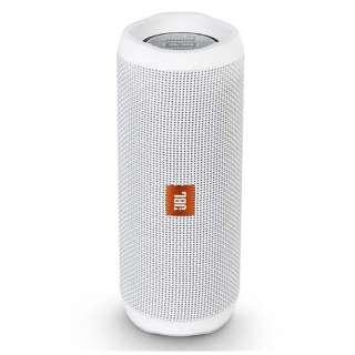 ブルートゥース スピーカー JBLFLIP4WHT ホワイト [Bluetooth対応 /防水]
