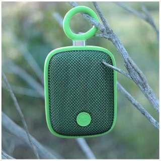 BubblePodsGRN ブルートゥース スピーカー グリーン [Bluetooth対応 /防水]