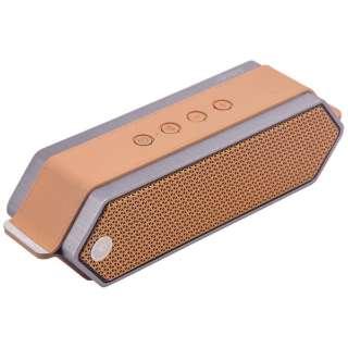 HarmonyII ブルートゥース スピーカー オレンジ [Bluetooth対応]
