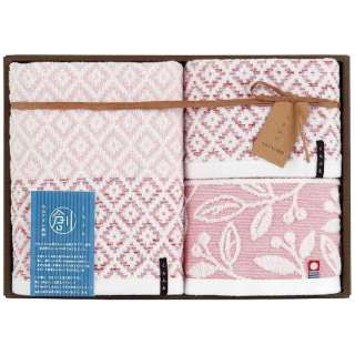 ギフトタオル おり織り(WT2・FT1) ピンク[生産完了品 在庫限り]