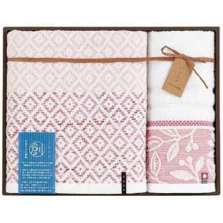 ギフトタオル おり織り(BT1・WT1) ピンク