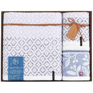 ギフトタオル おり織り(BT1・WT2) ブルー