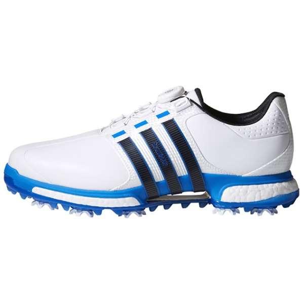 46f1bd712 Men s Golf Shoes TOUR360 BOA BOOST X(27.0cm  white X blue X core black)  Q44969