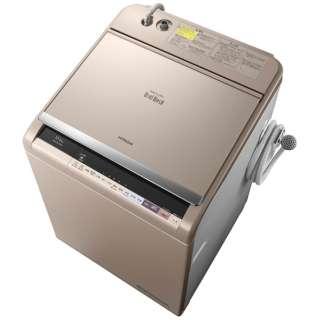 BW-DX120B-N 縦型洗濯乾燥機 ビートウォッシュ シャンパン [洗濯12.0kg /乾燥6.0kg /ヒーター乾燥(水冷・除湿タイプ) /上開き]