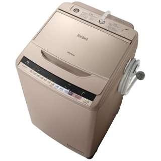 BW-V100B-N 全自動洗濯機 ビートウォッシュ シャンパン [洗濯10.0kg /乾燥機能無 /上開き]