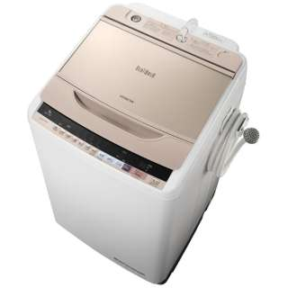 BW-V90B-N 全自動洗濯機 ビートウォッシュ シャンパン [洗濯9.0kg /乾燥機能無 /上開き]