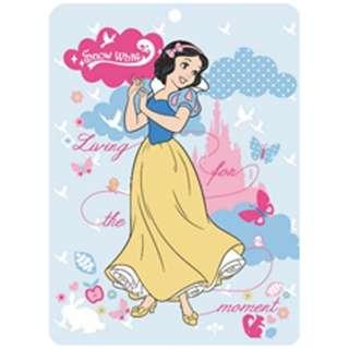 シャーリングタオルケット 白雪姫 シングルサイズ(140×190cm/ブルー)