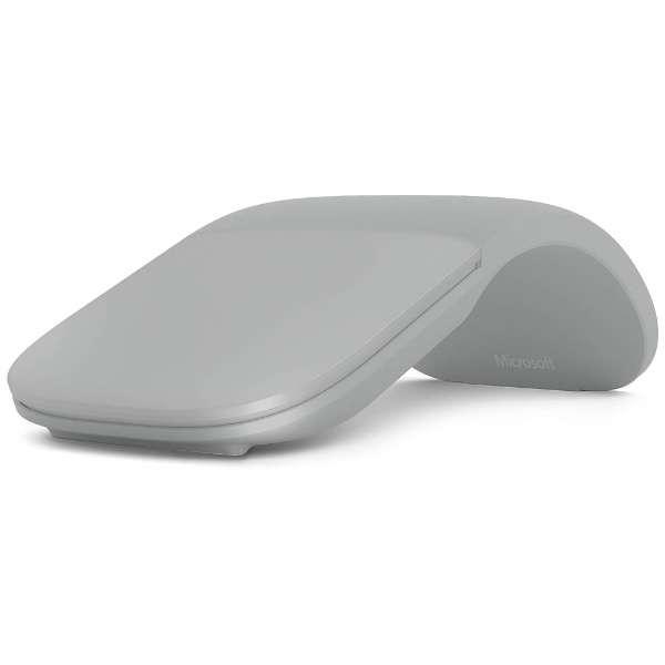 CZV-00007 マウス Surface Arc Mouse グレー [BlueLED /3ボタン /Bluetooth /無線(ワイヤレス)]