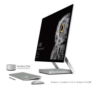 Surface Studio[28型/SSD:128GB/メモリ:32GB/IntelCore i7/シルバー/2017年6月モデル]43Q-00013 デスクトップパソコン サーフェススタジオ