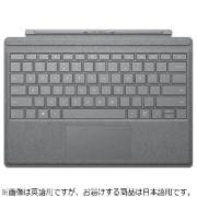 【純正】 Surface Pro / Surface Pro 4 / Surface Pro 3用 Signature Type Cover プラチナ FFP-00019