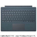 【純正】 Surface Pro / Surface Pro 4 / Surface Pro 3用 Signature Type Cover コバルトブルー FFP-00039
