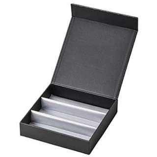 3本収納 コレクションBOX(ブラック)2550-01
