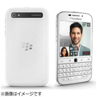 BlackBerry Classic「PRD59726026」BlackBerry OS 10.3.2・3.5型・メモリ/ストレージ: 2GB/16GB・nanoSIM×1 SIMフリースマートフォン