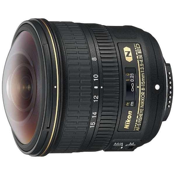 カメラレンズ AF-S Fisheye NIKKOR 8-15mm f/3.5-4.5E ED NIKKOR(ニッコール) ブラック [ニコンF /ズームレンズ]