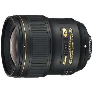 カメラレンズ AF-S NIKKOR 28mm f/1.4E ED NIKKOR(ニッコール) ブラック [ニコンF /単焦点レンズ]