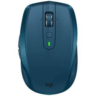 MX1600sMT マウス MX ANYWHERE 2S ミッドナイトグレイ ティール [レーザー /7ボタン /USB /無線(ワイヤレス)]