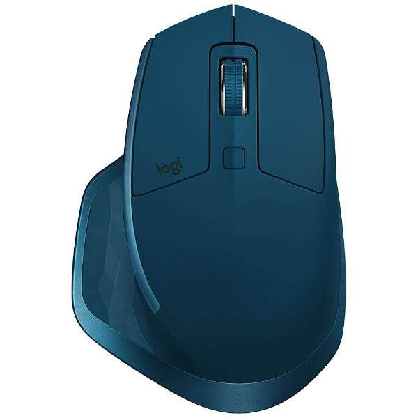 MX2100sMT マウス MX MASTER 2S ミッドナイトグレイ ティール [レーザー /7ボタン /USB /無線(ワイヤレス)]