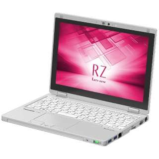 CF-RZ6ADFQR ノートパソコン Let's note(レッツノート)RZシリーズ シルバー [10.1型 /intel Core m3 /SSD:128GB /メモリ:8GB /2017年6月モデル]