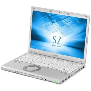 CF-SZ6BDYQR ノートパソコン Let's note(レッツノート)SZシリーズ シルバー [12.1型 /intel Core i5 /SSD:256GB /メモリ:8GB /2017年6月モデル]