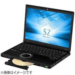 CF-SZ6CFMQR ノートパソコン Let's note(レッツノート)SZシリーズ ブラック [12.1型 /intel Core i7 /SSD:256GB /メモリ:8GB /2017年6月モデル]