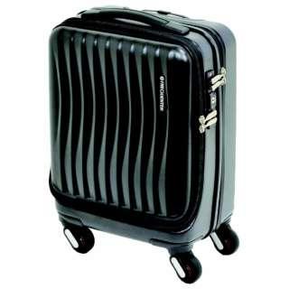 スーツケース 23L FREQUENTER Clam_Advance(フリクエンタークラムアドバンス) クロ 1-217 [TSAロック搭載]